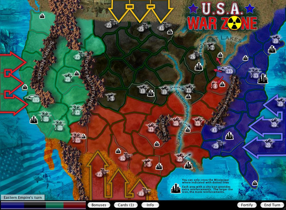 U.S.A. War Zone