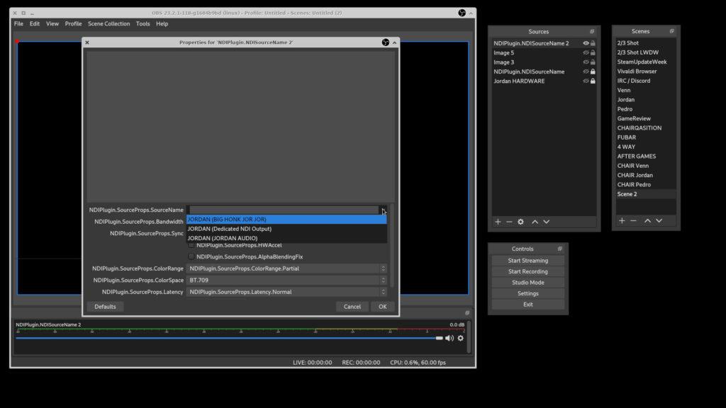 OBS-NDI Plugin Installation & Comparison (Linux) – LinuxGameCast